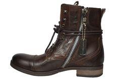 steve madden mens boots - Man Fashion, Fashion Boots, Fashion Outfits, Men's Boots, Combat Boots, Palladium Boots Mens, Steve Madden Boots, Designer Boots, Dark Brown Leather