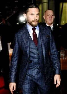Tom Hardy - TIFF | Legend Premiere Toronto, Canada - September 12, 2015...MY BIRTHDAY! Birthday Tom!  hehe