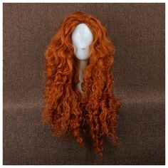 Wig Detail Disney Brave Merida Dark Curl Cosplay Wig Includes: Wig, Hair Net Important Information: Fitting - Maximum circumference of 55-60CM Material - Heat Resistant Fiber Style - Comes pre-style a
