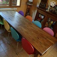 Table De Ferme Massive En Chene