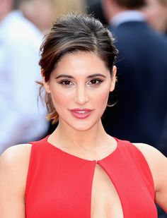 Nargis Fakhri's formal updo