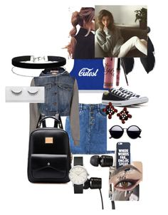 """""""UM, HUUUUUM"""" by ihascupquake270 on Polyvore featuring Moschino, Converse, Vans and Miss Selfridge"""