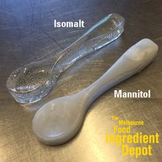 The difference between isomalt and mannitol