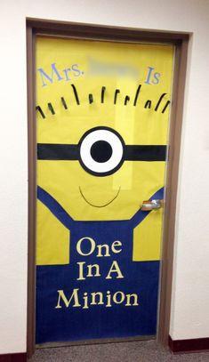 Teacher Appreciation door decorating idea