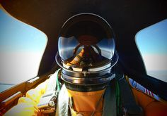 First of. Easily one of the most bad-ass selfies in history. SR-71 Blackbirds, speed, range, and the fact that it heats up to about 800 F during Mach 3 makes a flight suit a necessity. It's so functional it requires other functional things just to operate it.