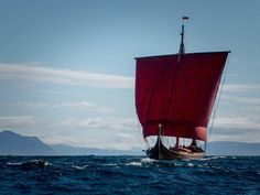 The Draken Harald Hårfagre Viking replica ship recently sailed across the…
