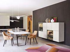 Dieses Moderne Esszimmer Aus Italien überzeugt Durch Sein Klare Aufgeräumte  Optik. #Esszimmer #diningroom
