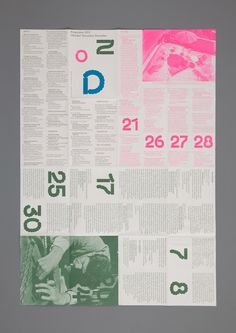 DESIGN EVERYWHERE — Bauhaus Dessau Program Folders