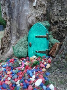 Faeries, fairy door, gifts for mom, unique garden gifts, housewarming gift, outdoor decor, fairy garden, garden statuary, faeteam, fantasy. by FairybehindtheDoor on Etsy https://www.etsy.com/listing/104822452/faeries-fairy-door-gifts-for-mom-unique