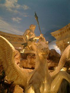 "Classic ""older"" vegas. Caesars palace/ forum shops int."