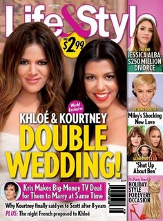 Khloe and Kourtney Kardashian Double Wedding: Kris Jenner Pimps Out Daughters For TV Deal To French Montana and Scott Disick (PHOTO)