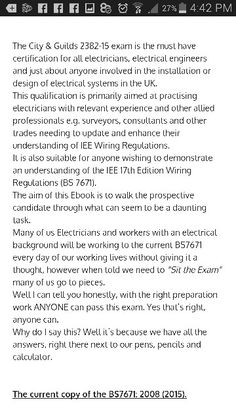 City and guilds 2382-15 exam