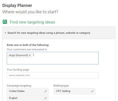 google-display-planner-enter-keyword