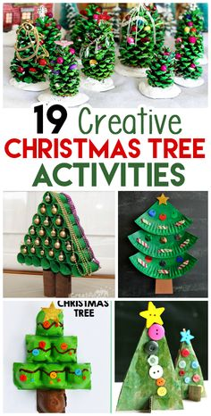 Fun paper plate Christmas tree craft for kids, preschool Christmas crafts, Christmas fine motor activities, Christmas art projects for kids. Creative Christmas Trees, Christmas Crafts For Toddlers, Christmas Crafts For Kids To Make, Christmas Tree Crafts, Preschool Christmas, Christmas Projects, Kids Christmas, Handmade Christmas, Holiday Crafts
