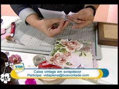 Artesanato - Caixa vintage - YouTube
