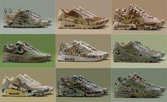"Nike Air Max ""Camo"" Collection"