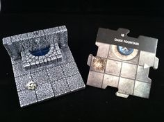 3-D tiles for Dungeon and Dragons