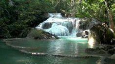 Erawan Falls, first tier - Erawan National Park, Thailand