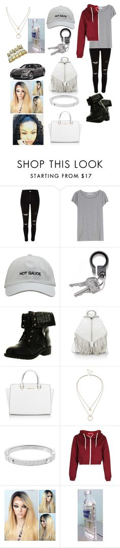 """""""Heading to the Mall """" by lovelylifebishh ❤ liked on Polyvore featuring mode, Acne Studios, Refresh, Rebecca Minkoff, Michael Kors en Sole Society"""