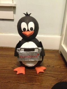 Penguin Valentine's Day Box