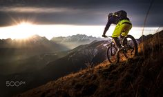 Ride in the last rays of light by Sandi Bertoncelj on 500px