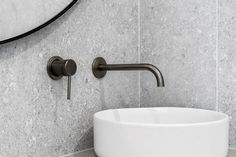Jamie Shaw Building Designed bathroom featuring our product