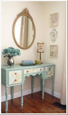 Inspiration File: Mod Podged Map Buffet   I so have a piece of old furniture I can redo and make like this!