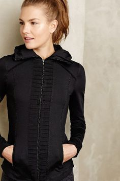 Pleat-Front Hoodie #anthrofave #anthropologie.com
