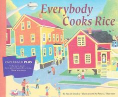 Everybody Cooks Rice: Houghton Mifflin Invitations to Literature (Invitations to Lit 1996) by Hm
