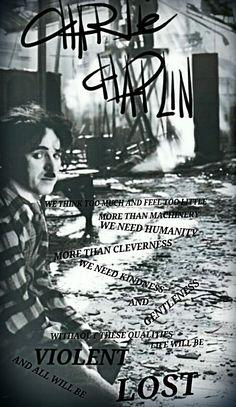 Charlie Chaplin, by: Eko Surya Winata