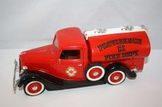 SOLIDO 1936 FORD V8 CITERNE 1:19 SCALE PROVIDENCE FIRE DEPARTMENT DIE CAST MADE IN FRANCE
