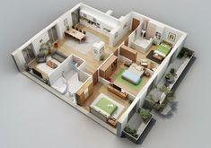 denah+rumah+minimalis+3+kamar+tidur.jpg 600×421 pixels
