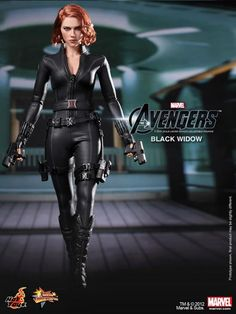 Avengers Black Widow Figure from Hot Toys