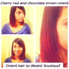 Ombré hair! By Meeks' Boutique instant hotness ;)
