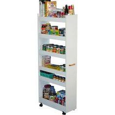 """VHZ Storage 56"""" Kitchen Pantry Finish: White"""