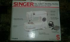 Singer Tiny Tailor Mending Machine TT600A Portable Sewing Machine Stitch