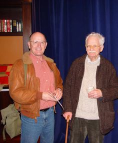 "The Man who taught me about color at Cornish when I was just a kid; the last  of the ""Northwest School"" Masters, the late great William ""Bill"" Cumming. In 1995, while starring at 'Red Stack' he said my ""paintings were so realistic they were abstract"" Photo about 2008."