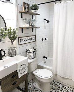Farmhouse bathroom -  - #Genel - #badezimmerrenovierungen