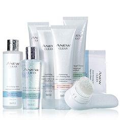 AVON ANEW Clean SkinCare available at http://www.youravon.com/Jennifergagnon