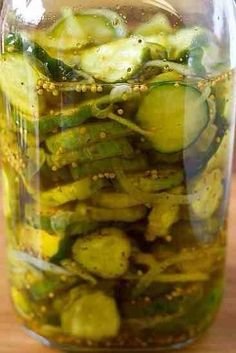 The Best Pickle Recipe Ever!
