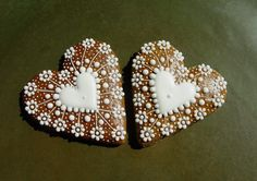 Christmas Sugar Cookies, Valentine Cookies, Christmas Gingerbread, Holiday Cookies, Christmas Holidays, Christmas Crafts, Biscuits, Love Craft, Sweet And Salty