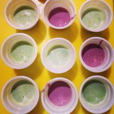 Succo di spinaci mela verde kiwi zenzero e lime con KUVINGS