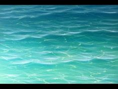 Learn how to paint water! In this short but incredibly info-packed acrylic painting tutorial, Mark will show you how to paint gorgeous clean, clear tropical ... #OilPaintingWater #OilPaintingTutorial