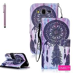 Galaxy Core Prime G360 Case,Galaxy Prevail LTE Case,OMIU(TM);[Pictures Wallet](Dreamcatcher)PU Leather Wallet Case For Samsung Galaxy Core Prime G360,Sent Stylus,Core Prime G360 Case,Samsung G360 Case