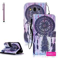 Galaxy Core Prime G360 Case,Galaxy Prevail LTE Case,OMIU(TM);[Pictures Wallet](Dreamcatcher)PU Leather Wallet Case For Samsung Galaxy Core Prime G360,Sent Stylus,Core Prime G360 Case,Samsung G360 Case