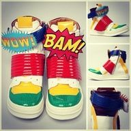 Jeffrey Campbell WOW BAM sneakers