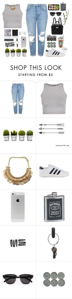 """""""random hipstaa` - by Lisy"""" by lisajackson ❤ liked on Polyvore featuring Topshop, Free People, Billabong, adidas Originals, PA Design, Yves Saint Laurent, Mulberry and Polaroid"""