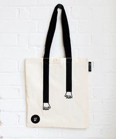 Sac / tote bag à portée de main - lazy oaf
