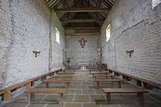 """""""Chapel of St Peter's on the Wall Bradwell on sea Essex 7th Century  Wikipedia images"""""""