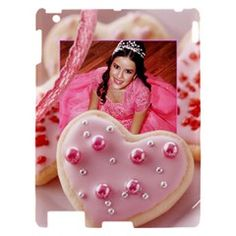 cookie hearts  by Ivelyn - Apple iPad 2 Hardshell Case  Insert your own photos